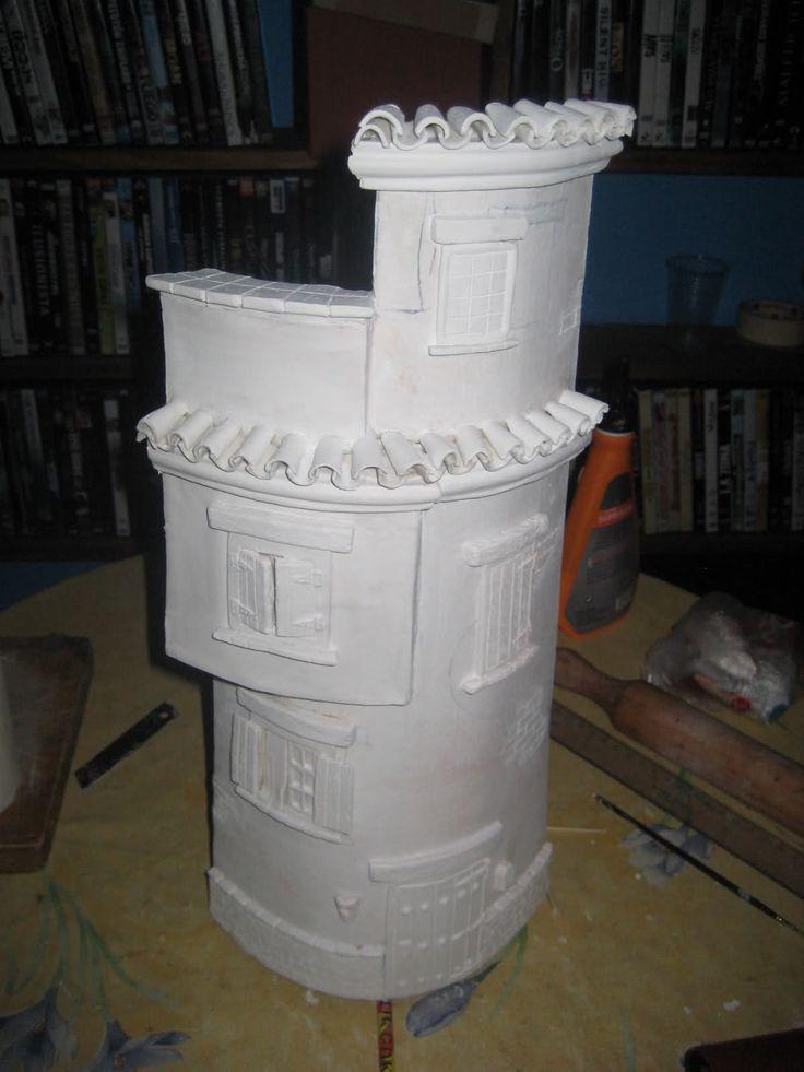 Tejas decoradas con pasta de modelar paso a paso buscar for Ceramica para modelar