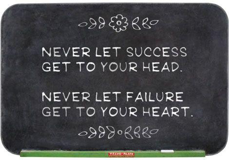 chalk motto board