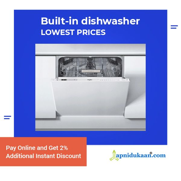 Whirlpool Built In Dishwasher Fully Integrated Wio 3t 121 60 Cm Built In Dishwasher Dishwasher Buying Kitchen Appliances