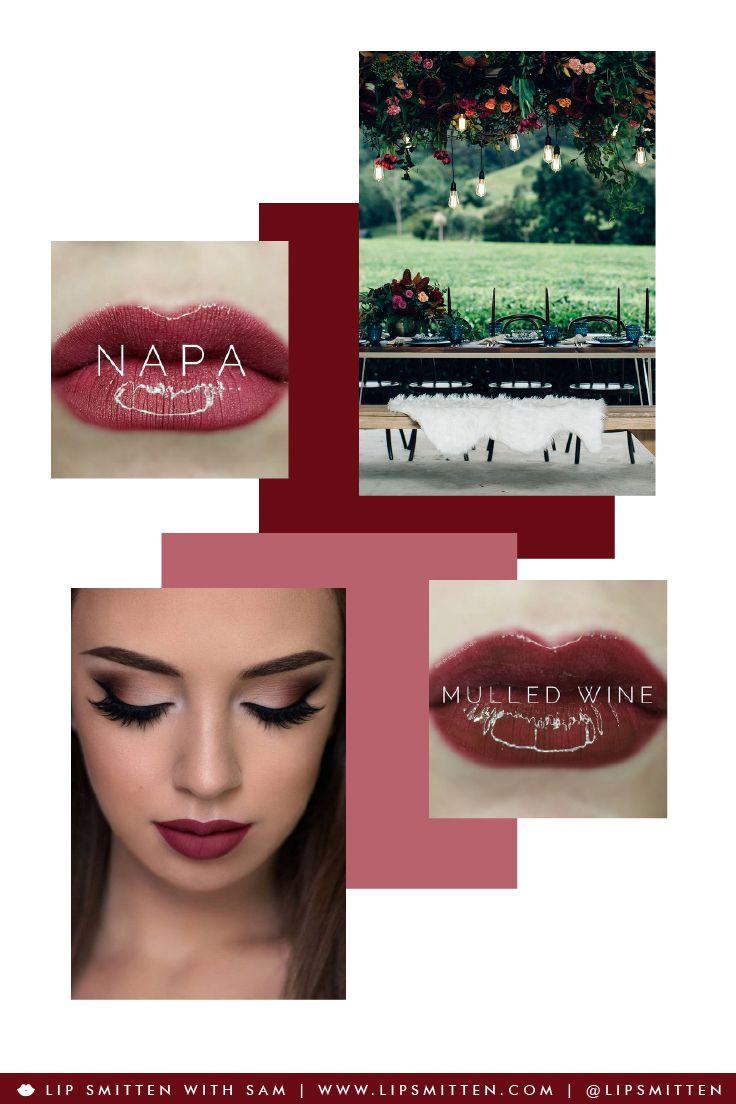 The Perfect Lipsense For The Blushing Bride - Wedding LipSense - Napa and Mulled Wine. Distributor ID #404391 Sam Bell - Lip Smitten - Penrith/Sydney Australia