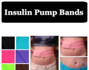 Kompression Insulinpumpe Arm Band RS Volltonfarben von DIABAND