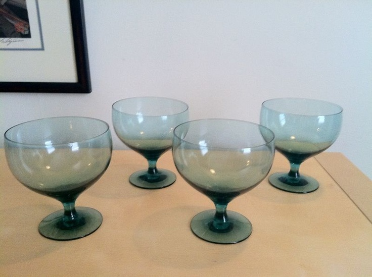 Russel Wright Goblets Seafoam For The Home Pinterest
