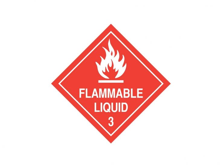 Flammable Liquid Vector Logo