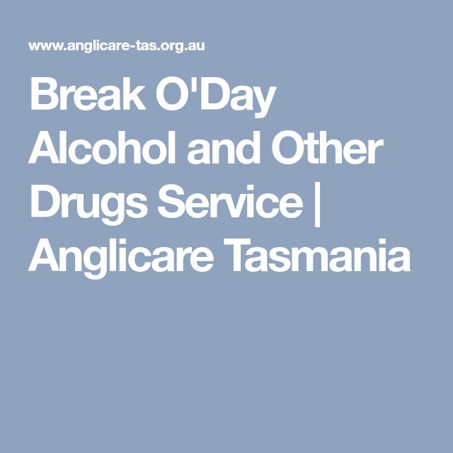 Break O'Day Alcohol and Other Drugs Service | Anglicare Tasmania