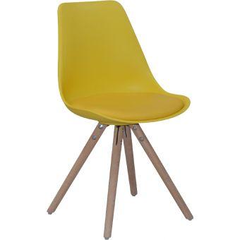 Woody Eetkamerstoel Wit - Eetkamerstoelen Zonder Armleuning - Eetkamerstoelen - Eetkamer meubelen   Zen Lifestyle
