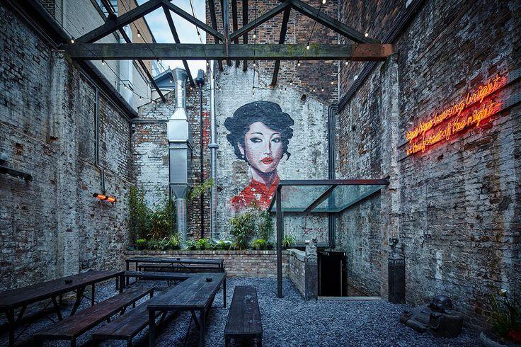 Blind Tiger: (Liverpool) Snook Architects   Decoração de restaurante. Decoração bar. Ideias