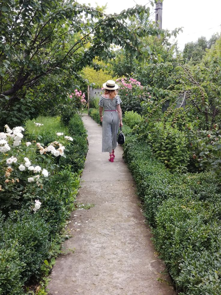 Summer like stroll