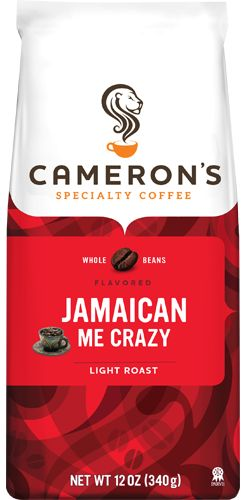 Discover the always smooth, never bitter taste of Cameron's Jamaican Me Crazy coffee. Available in 12 oz Ground Bags.