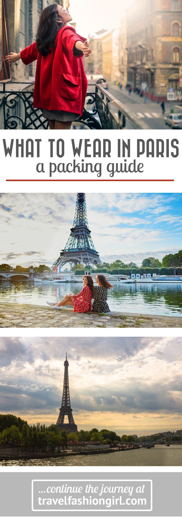 What to Wear in Paris Packing List (2020 Update) Paris