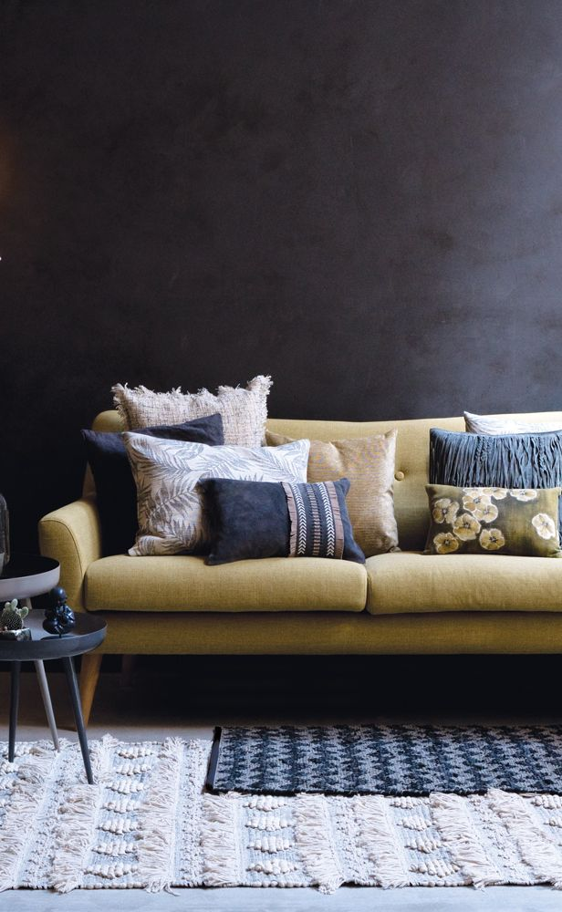 A.U Maison SS17. #aumaison #interior #homedecor #styling #danishdesign #livingroom #cushions #rug
