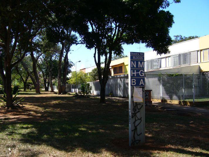 Chaotický systém určování adresy v Brasília