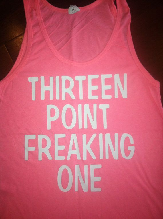 Thirteen Point Freaking One Tank