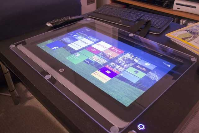 Diy Touchscreen Coffee Table In 2019 Touch Screen Table