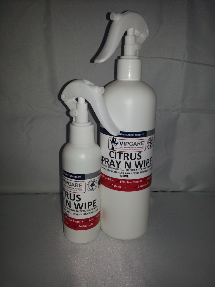 Citrus Spray and Wipe.  Our citrus spray is a multi-purpose surface cleaner.  If you like green products then this is a must for you. www.vipcare.co.nz