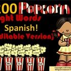"Popcorn words are words that keep ""popping up"" in everything we read. As you introduce new popcorn words, add them to your class word wall. I have ..."