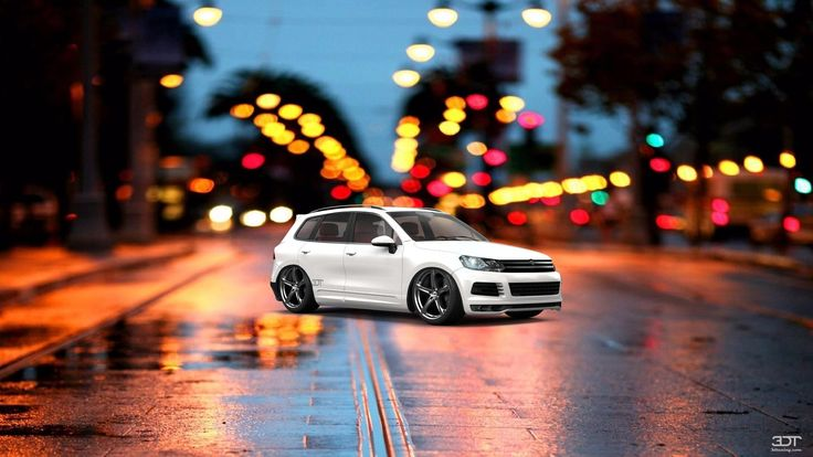 Check out my tuned #Volkswagen #Touareg 2011 at #alcarplayground #tuning