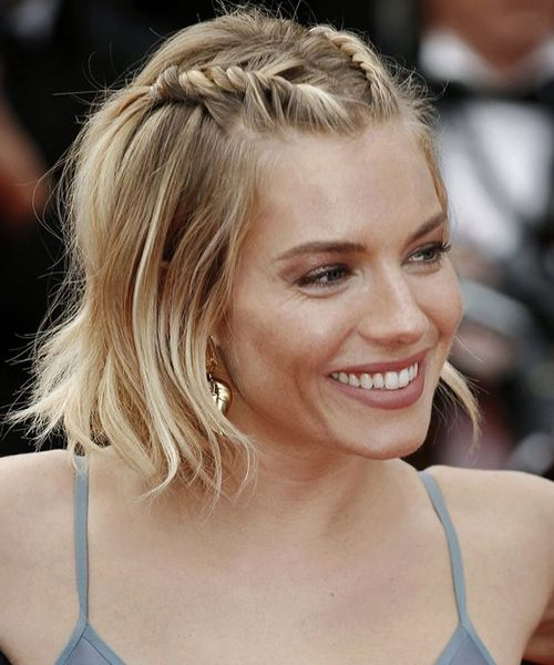 `Gorgeous Celebrity Short Hairstyles – Sienna Miller