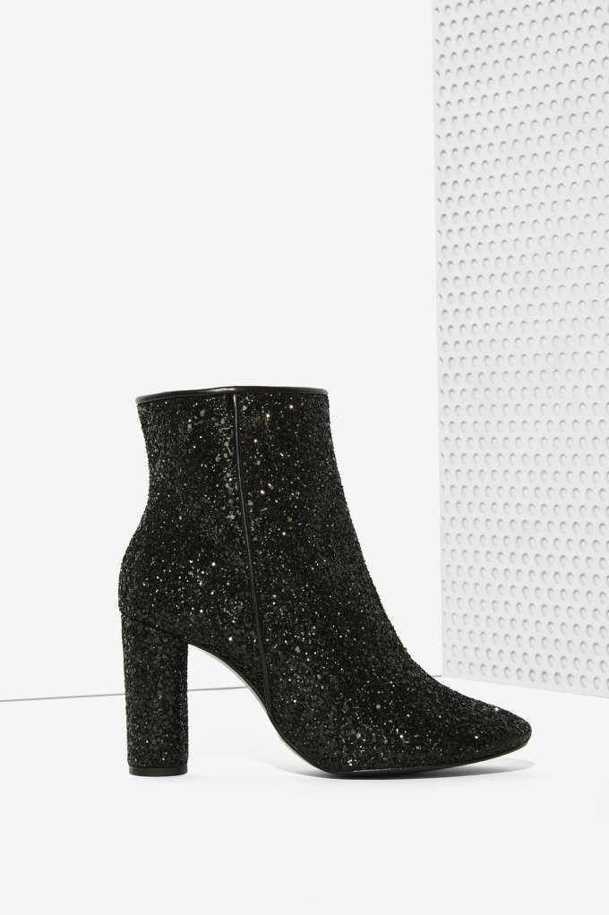 Crosswalk Stardust Glitter Bootie | Shop Shoes at Nasty Gal!