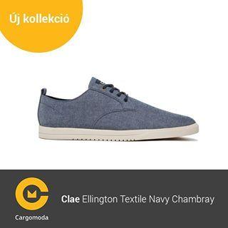 Clae Ellington Textile Navy Chambray - Megérkezett az új tavaszi-nyári Clae kollekció! www.cargomoda.hu #cargomoda #clae #man #springsummercollection #spring #summer #mik #instahun #ikozosseg #budapest #hungary #divat #fashion #shoes #fashionlover #fashio