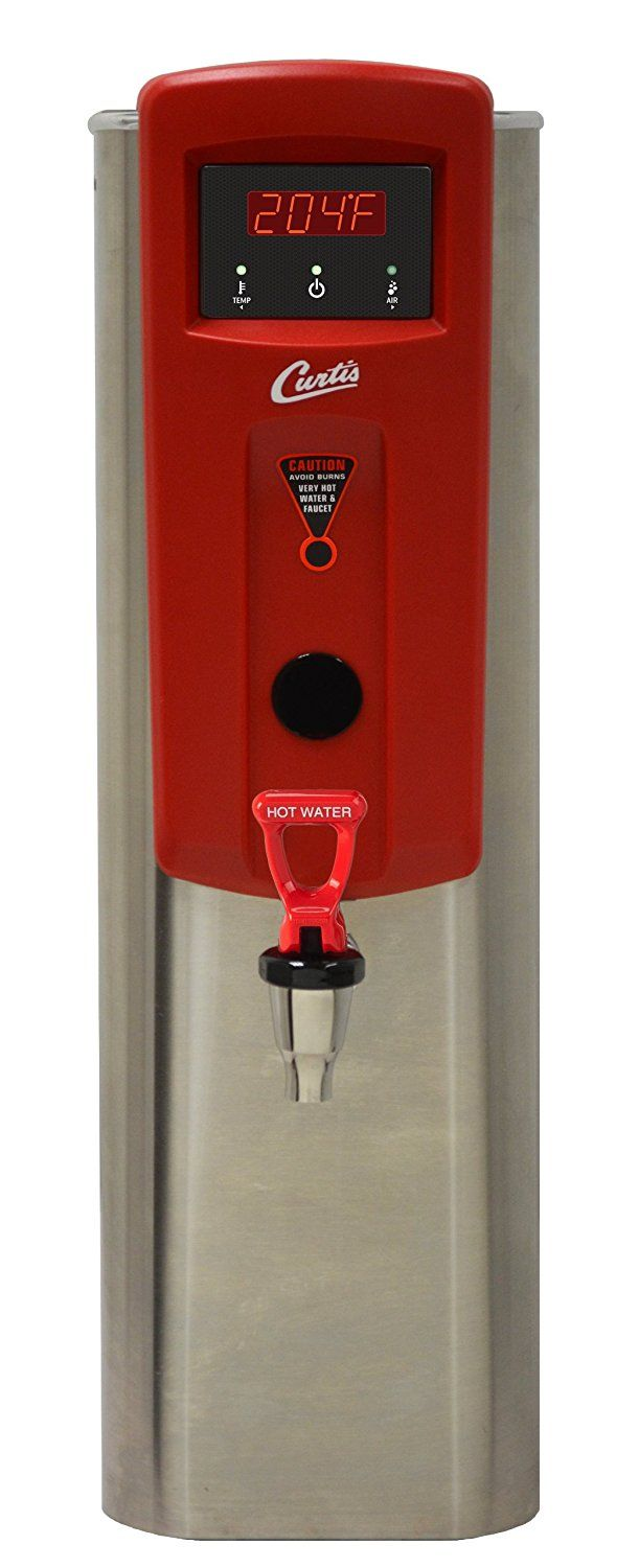 """Amazon.com: Wilbur Curtis Hot Water Dispenser 5.0 Gallon Narrow, 13.88"""" Faucet Height - Commercial Hot Water Dispenser with Digital Control Module - WB5NL (Each): Industrial & Scientific"""