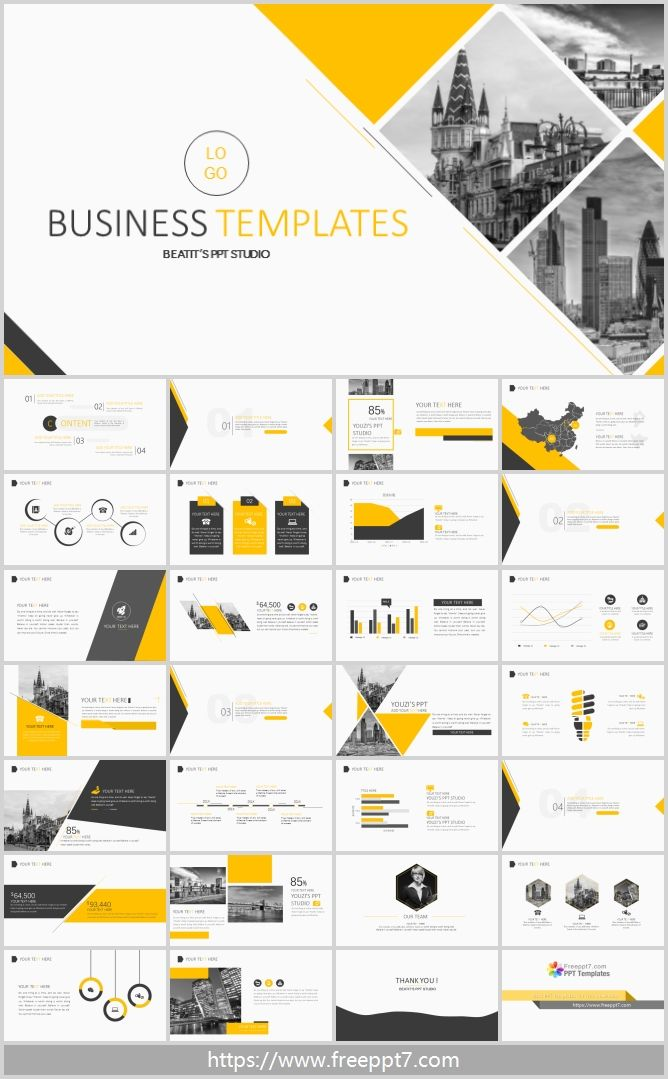 High Quality Business Powerpoint Template Business Powerpoint Templates Powerpoint Presentation Design Powerpoint Design Templates