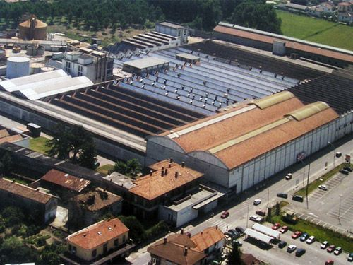 Stabilimento industriale a Mortara