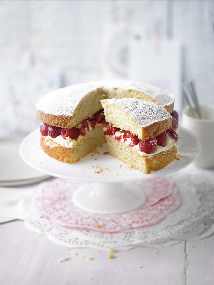 You can't beat a classic - the perfect Victoria sandwich.