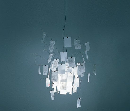 Zettel'z 6 by Ingo Maurer   General lighting