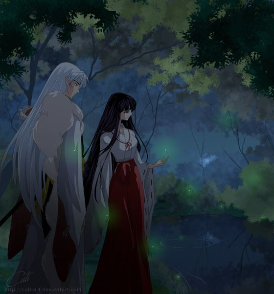 Kikyo And Kagome Lesbian Kiss Sex: 20 Best Images About Inuyasha On Pinterest