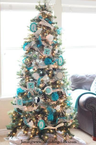 Michaels Dream Christmas Tree Challenge 2013 Reveal