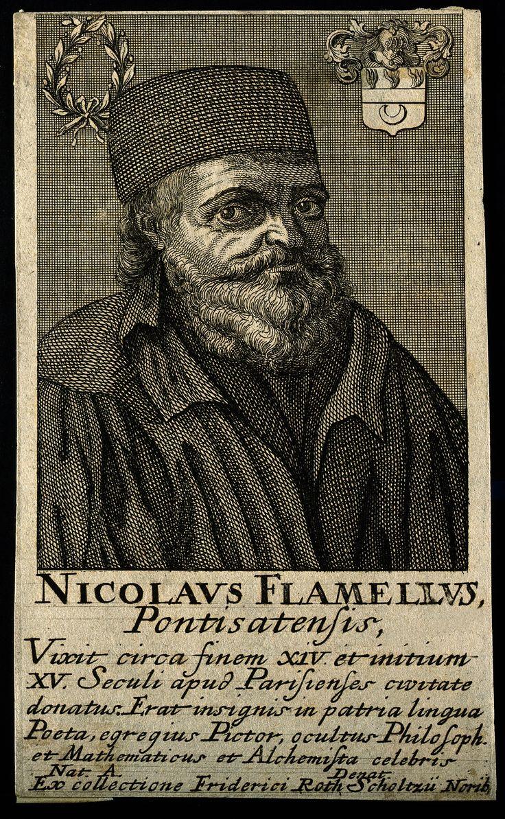 Nicolas Flamel (prob Pontoise, Ca 1330 €� Paris, March 22, 1418