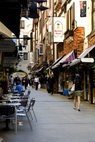 London Court, Perth WA - Coffee!! I need coffee!