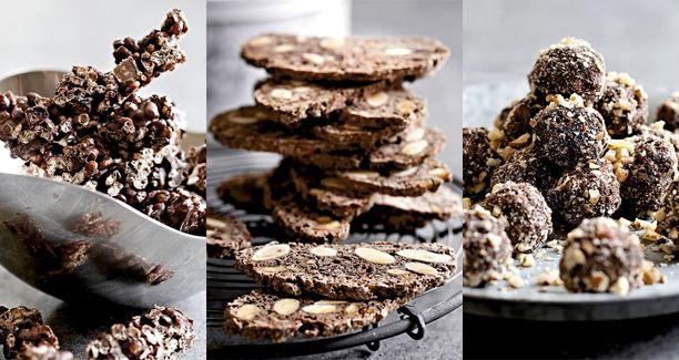 Julekonfekt og de traditionelle småkager der hører sig julen til er ikke blandt de sundeste ting man kan spise. Her får du tre alternativer som ikke feder