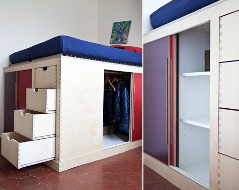 Fotos de vestidores peque os para aprovechar el espacio - Aprovechar el espacio ...