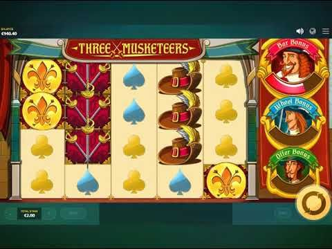 Three Musketeers spill automaten - https://www.spilleautomater-gratis.com/spill/three-musketeers-spill-automaten #ThreeMusketeers #spillautomaten