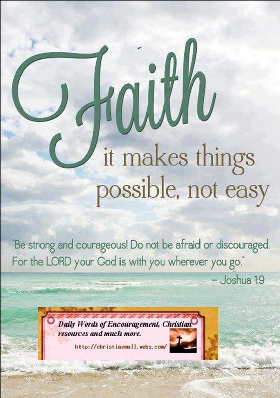 Daily Words of Encouragement,Christian resources and much more ...
