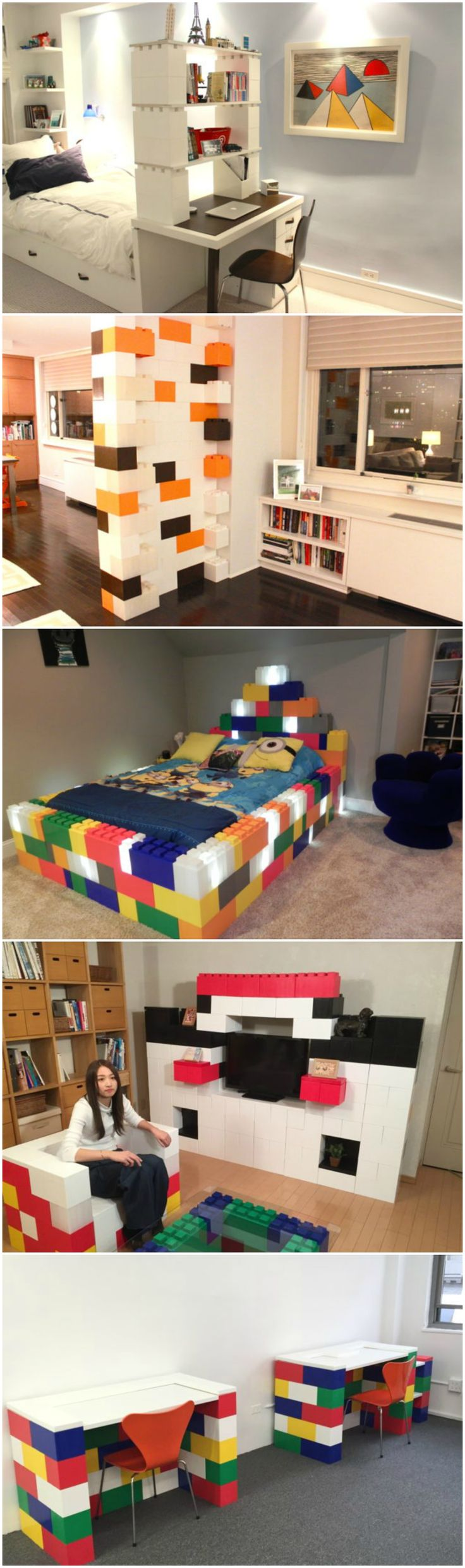 Build Amazing Things With EverBlock Systems. Everblock SystemPlayroom  OrganizationOrganizingKids Bedroom ChairsBedroom IdeasLarge ...