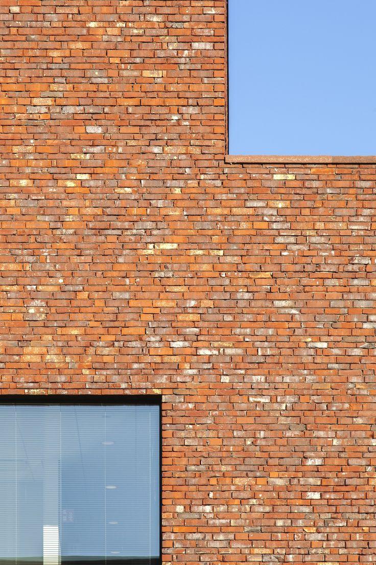 nieuwbouw kantoor | gevelsteen | Wienerberger | Klarté Architecten | Uniqum Advocaten Kortrijk | Dedeyne Construct | Annick Vernimmen Photography