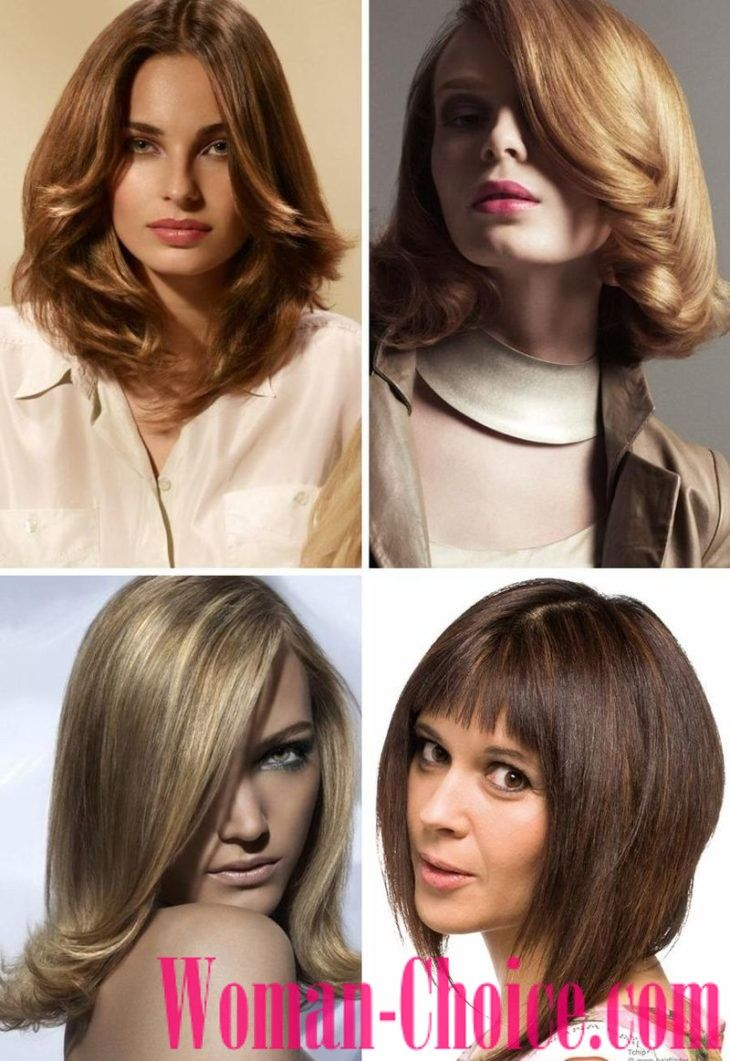 Trendy Haircuts For Hair Of Medium Length 2018 2019 100 Photos Womanchoice Online Magazine For Women