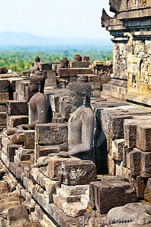 Borobudur temple, Indonesia.. I've visited this temple..awesome