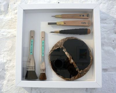 strumenti per intagliare blocchi di legno di Mara COZZOLINO @evvivanoé