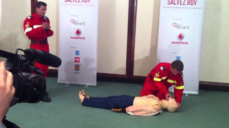 Primul ajutor in caz de stop cardiac - paramedici