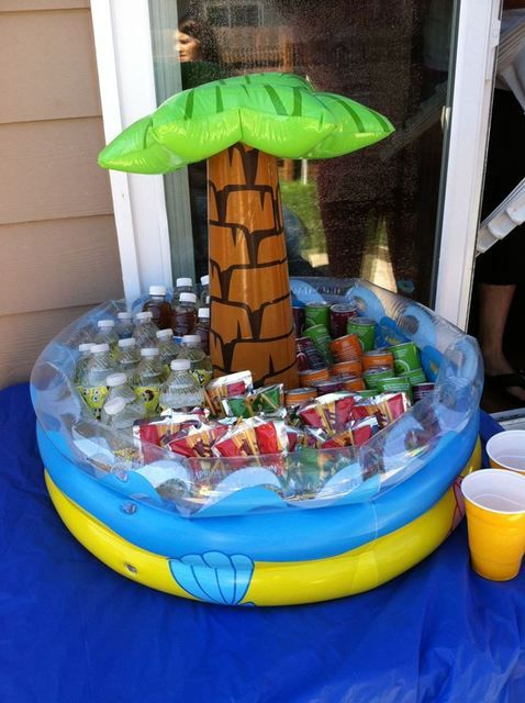 Pool Party Kids Ideas 23 super cool pool party ideas for teens Spongebob Square Pants Birthday Party Ideas
