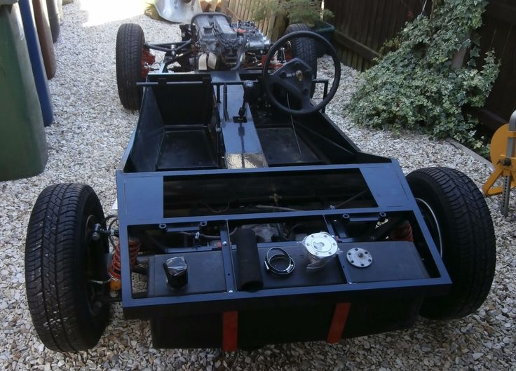 Fisher Fury Chassis Unfinished Kit Car Project eBay