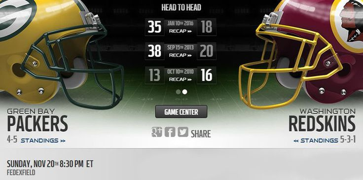 Redskins vs Packers live stream    more :: http://packersvsredskins.us/