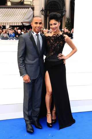 File photo dated 16/05/12 of Lewis Hamilton and Nicole Scherzinger who has split up with her Formula 1 star boyfriend Lewis Hamilton, her publicist confirmed today.