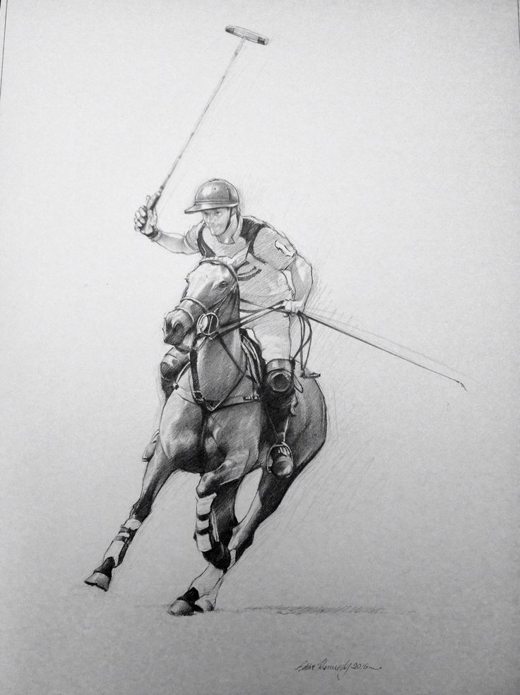 Spencer McCarthy. Top UK amateur polo player.