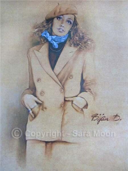 Sara Moon / Bijan D - 1991 Calendar - December