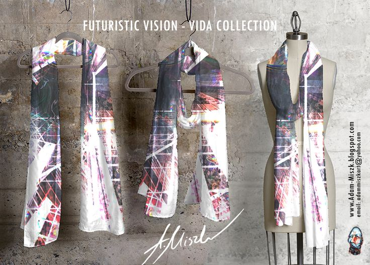 New collection 'Futuristic vision' is avaliable in VIDA shop on site  http://shopvida.com/collections/voices/adam-miszk   I invite everyone who wants to give me your love voice in fashion and buy my beautiful design.