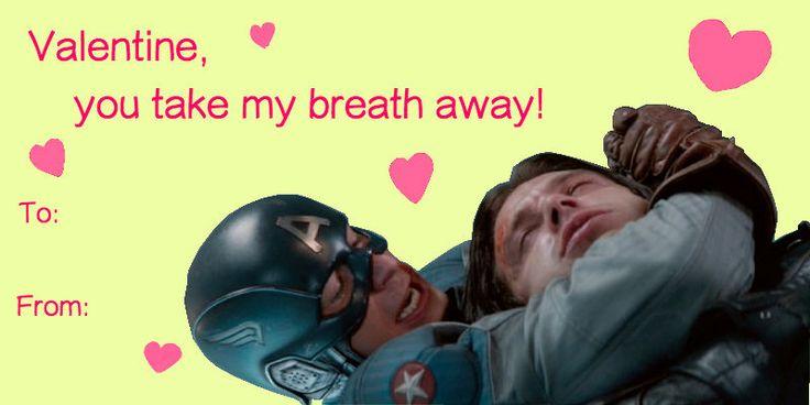Captain America Valentines Meme